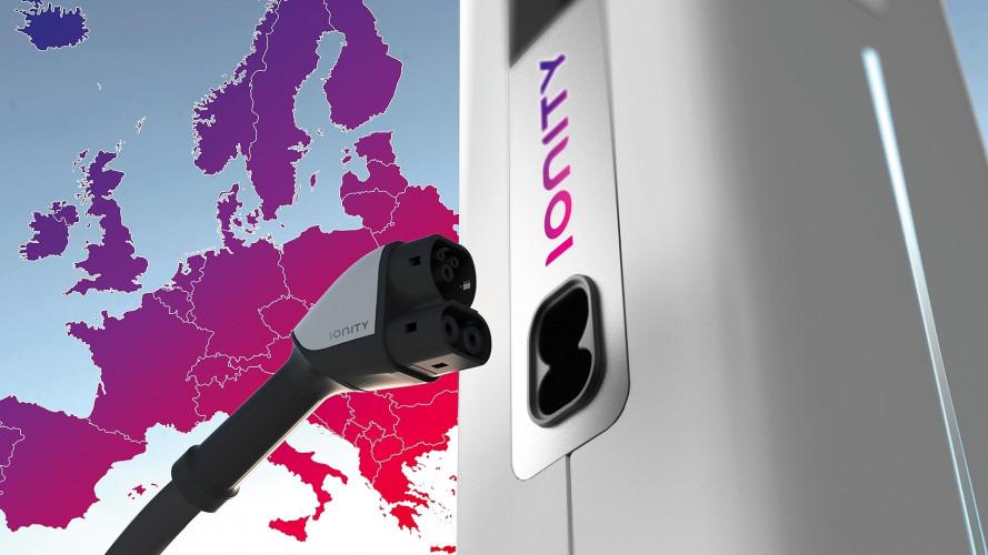 Auto elettriche, IONITY è la rete europea di ricarica ultraveloce
