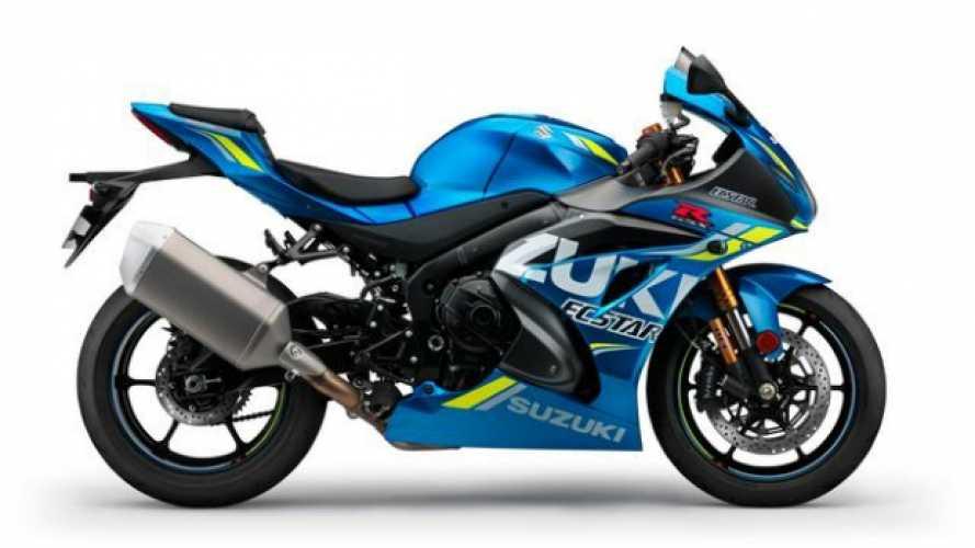 Suzuki GSX-R1000: arriva il blu MotoGP