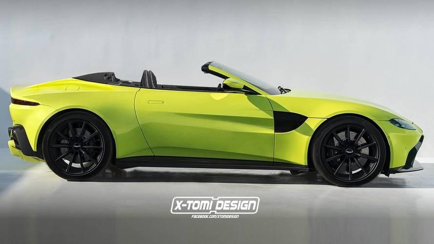 Aston Martin Vantage Volante Render Is Wallpaper Material