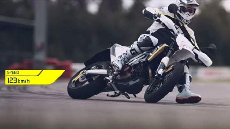 Husqvarna 701 Supermoto in azione [VIDEO]