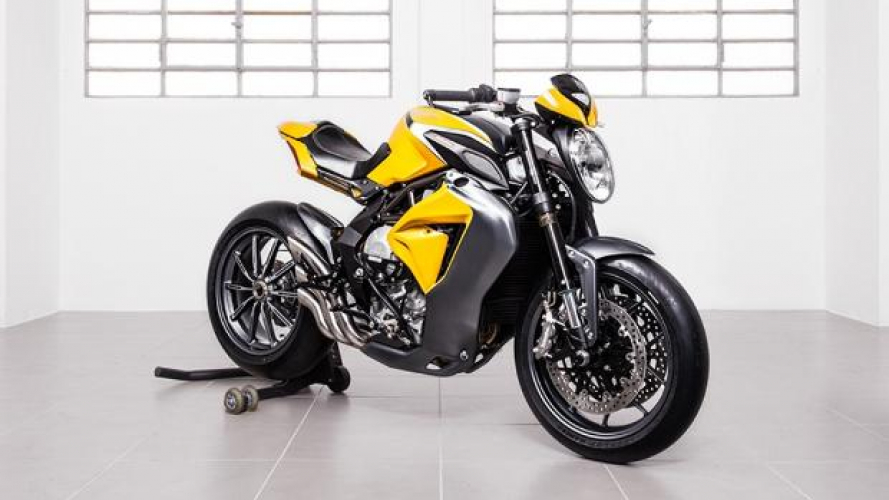 Mv Agusta Dragster S by Officine GP Design
