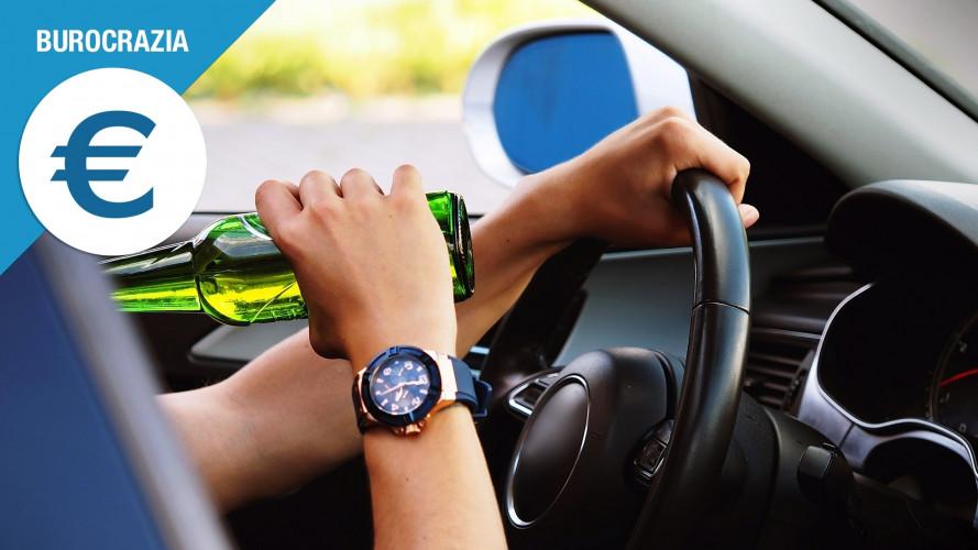 Alcol alla guida: tutto su multe, sospensione patente e confisca auto