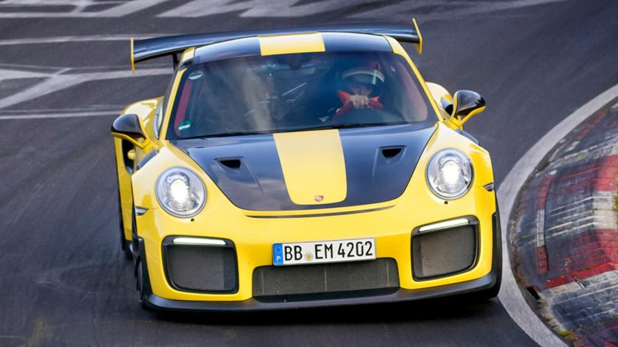 Porsche GT2 RS, l'auto di serie più veloce al Nurburgring
