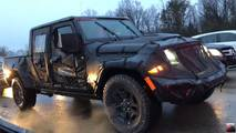 2019 Jeep Scrambler Spy Shot