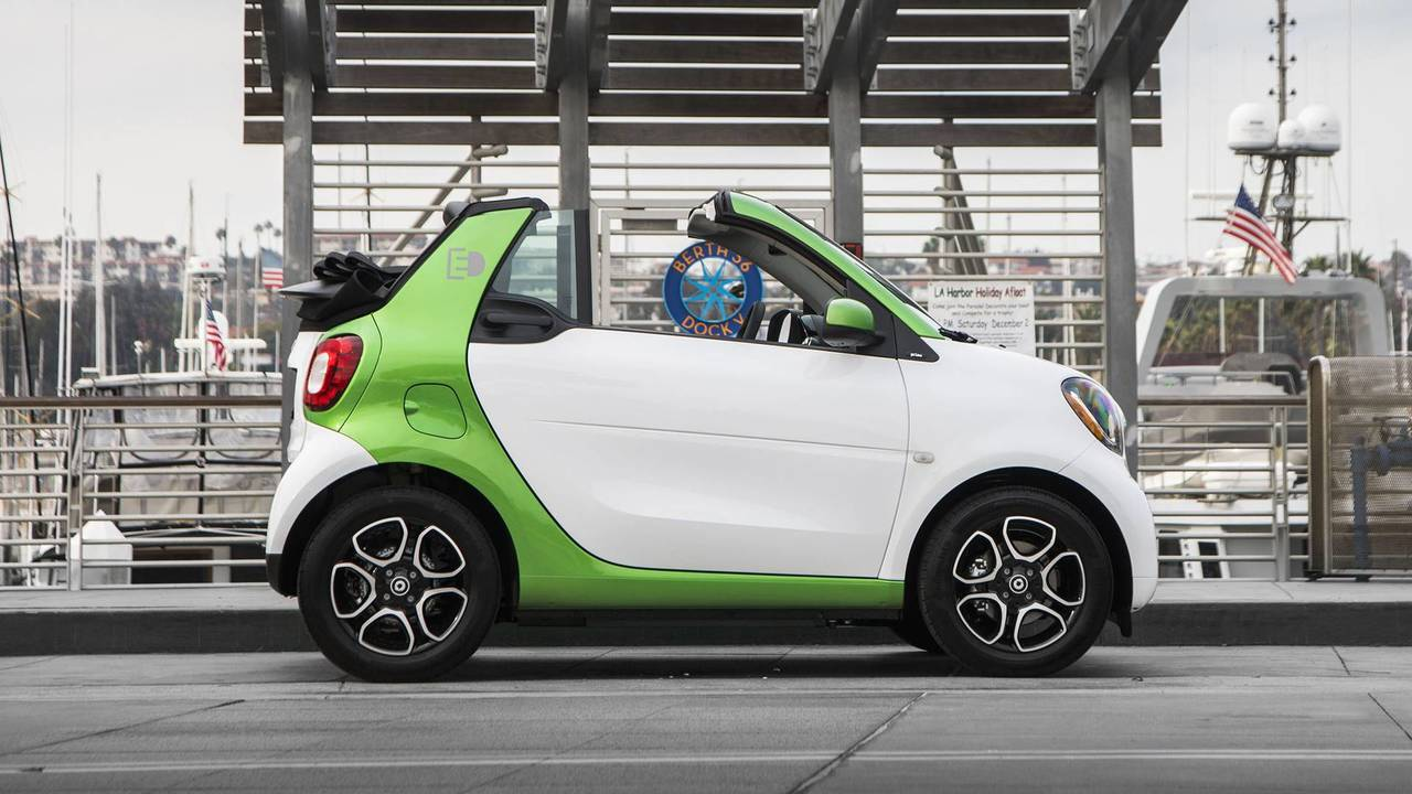 2018 Smart Fortwo Electric Drive Cabriolet Review