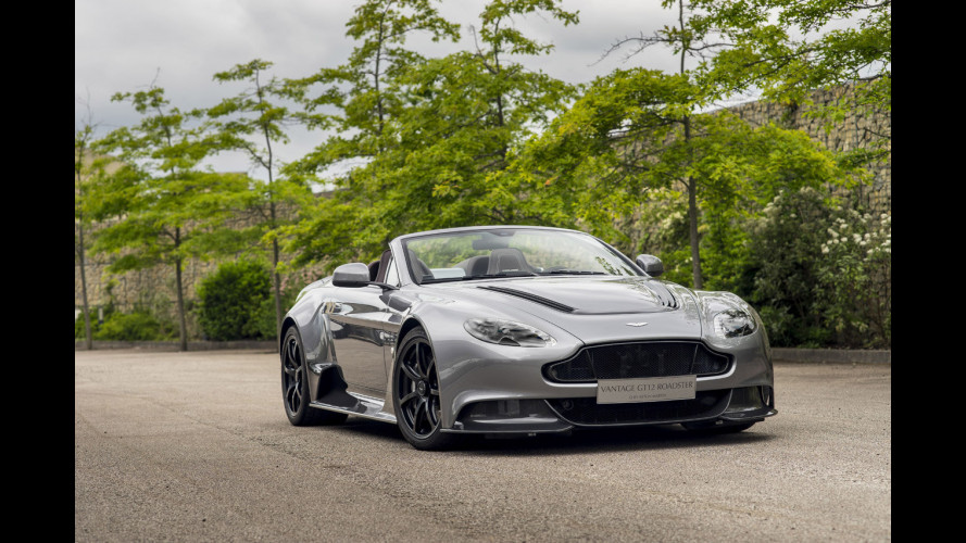 Aston Martin Vantage GT12 Roadster, unica in tutto