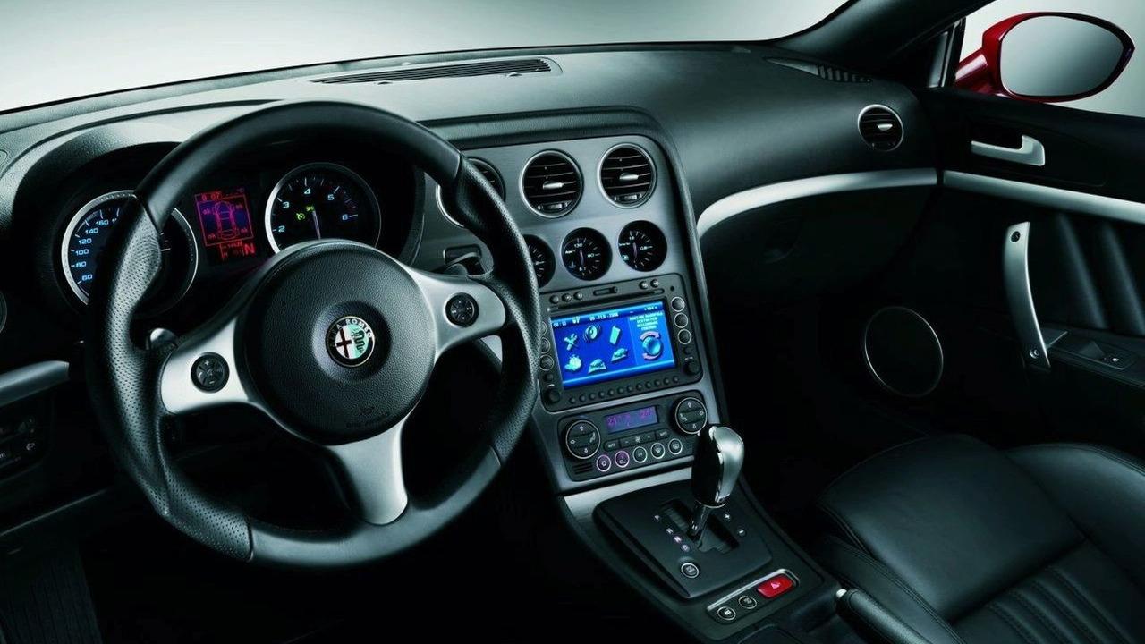 Alfa Romeo Brera Interior Photos