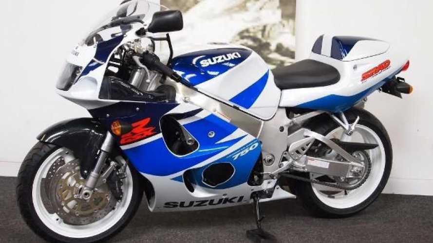 Su Ebay in vendita una Suzuki GSX-R 750 SRAD nuova!