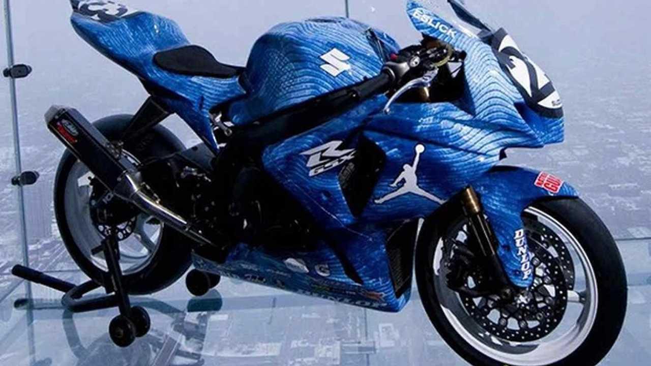 "Suzuki: una GSX-R 1000 dedicata ad ""Air"" Jordan"