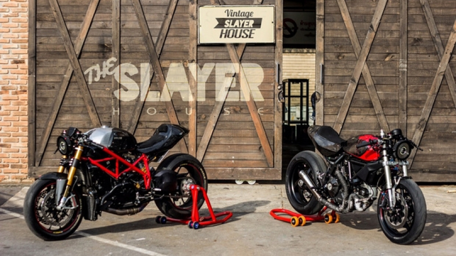 Ducati Duology, un'invenzione custom by Slayer House