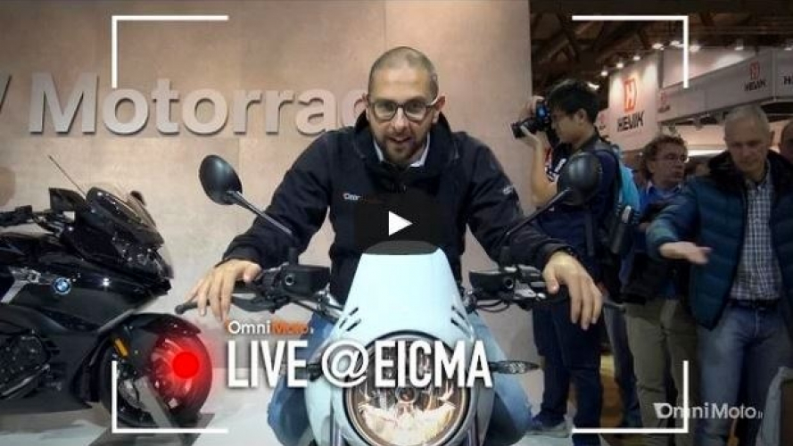 BMW R nineT Urban GS a EICMA 2016 [VIDEO]