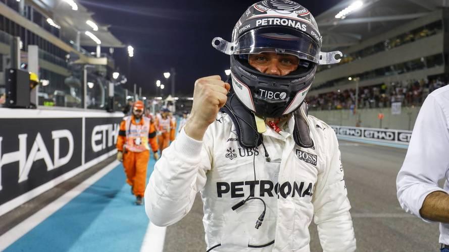 F1 Abu Dhabi GP: Bottas Beats Hamilton To Final Pole Of 2017