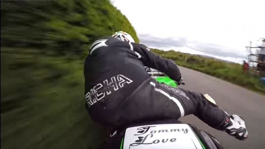 Cookstown 100: a tutto gas in sella alla ZX-6R di Andy Farrel [VIDEO]
