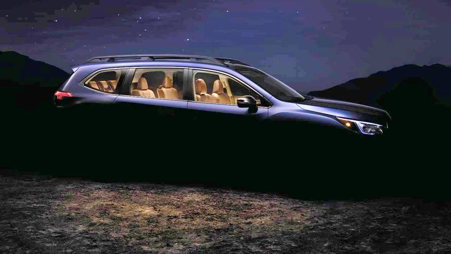 Subaru Ascent Teaser Brightened