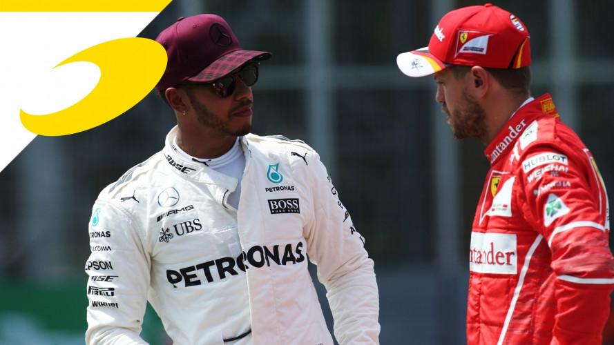 [Copertina] - F1, Hamilton a Vettel:
