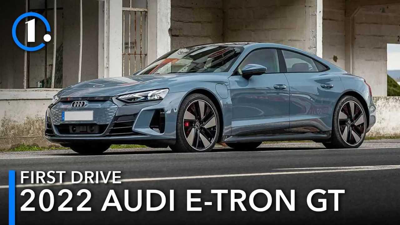 Audi E-Tron GT Quattro First Drive