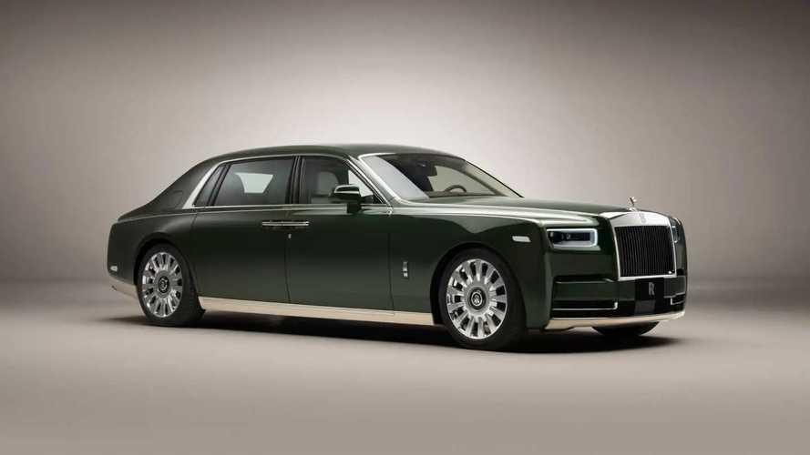 Rolls-Royce Phantom Oribe, un coche único para un cliente japonés