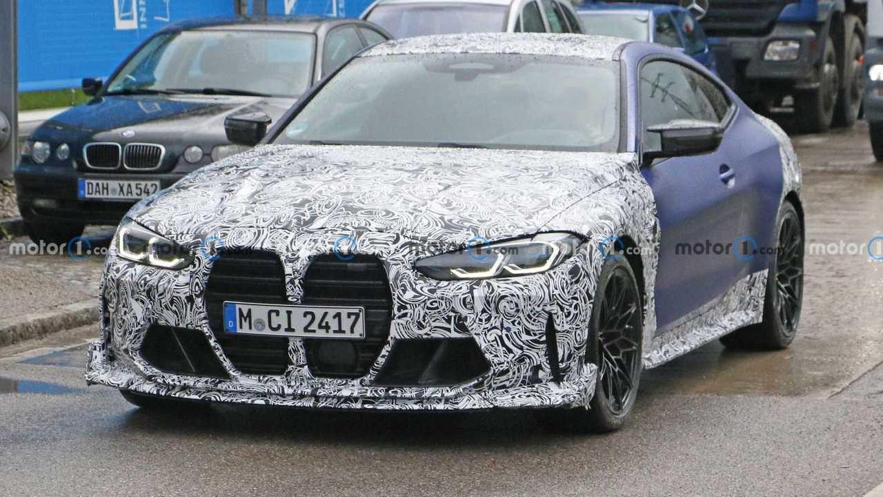 BMW M4 CS, le foto spia