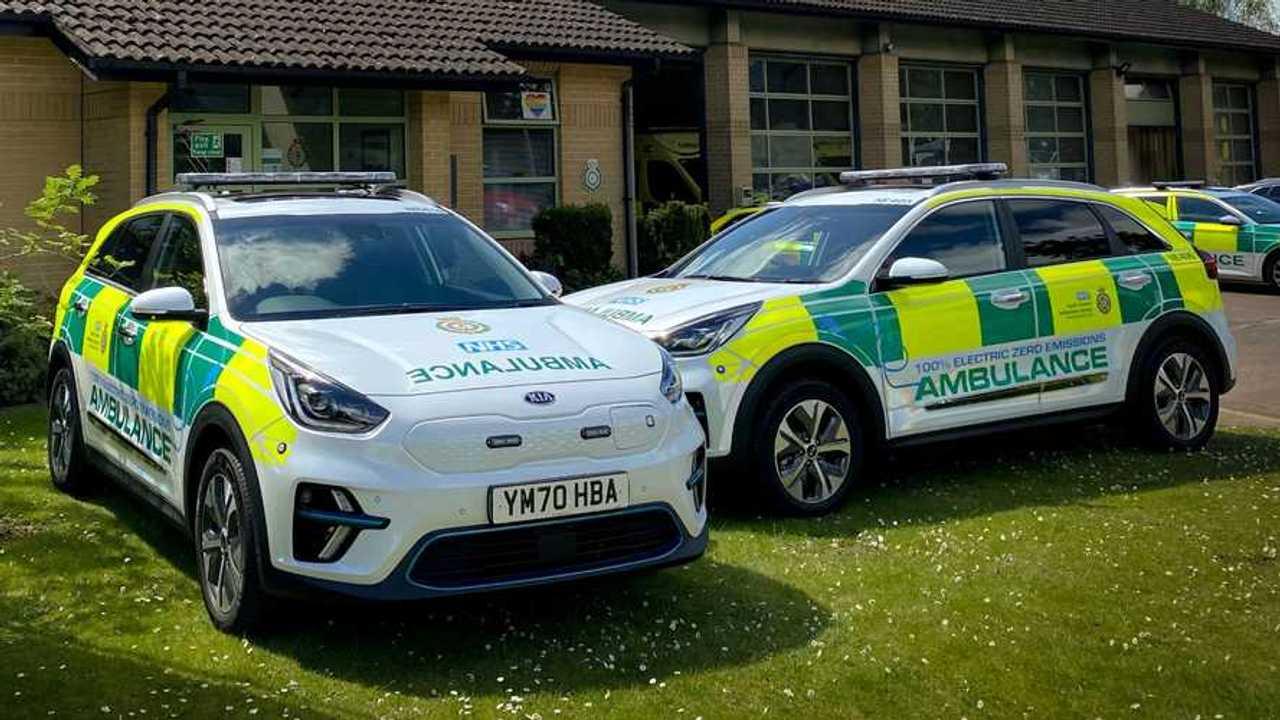 Kia e-Niro electric emergency response vehicles