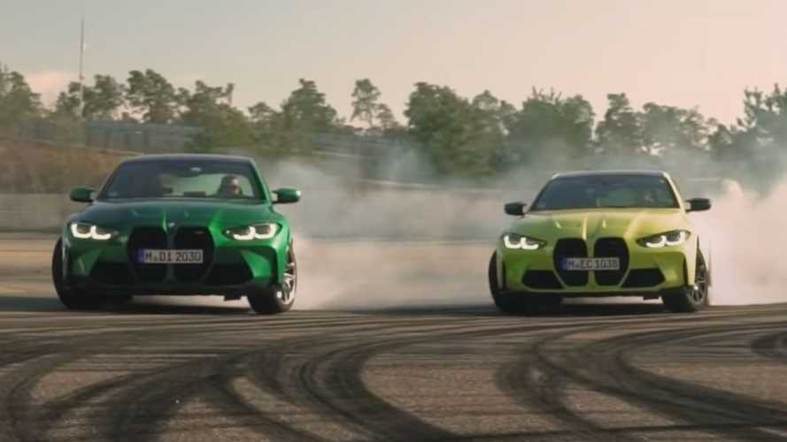 Watch New M3, M4 Go Sideways In BMW's Definitive Drift Test