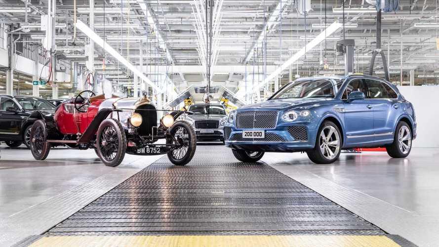 Bentley célèbre ses 200'000 véhicules produits
