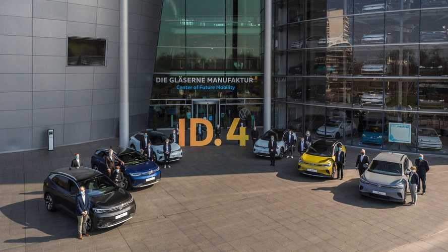 Volkswagen ID.4 Deliveries Start In Germany