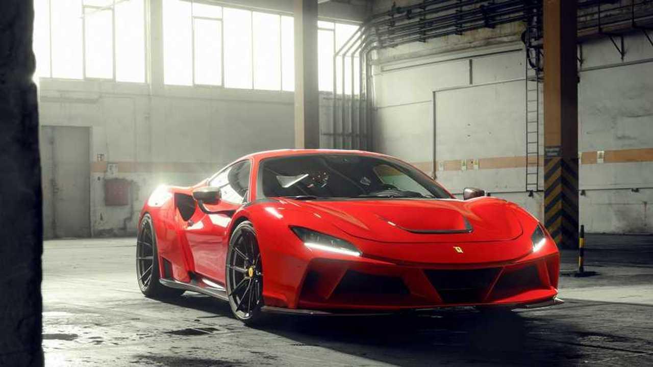 Ferrari F8 Tributo erhält Breitbau und 818 PS von Novitec