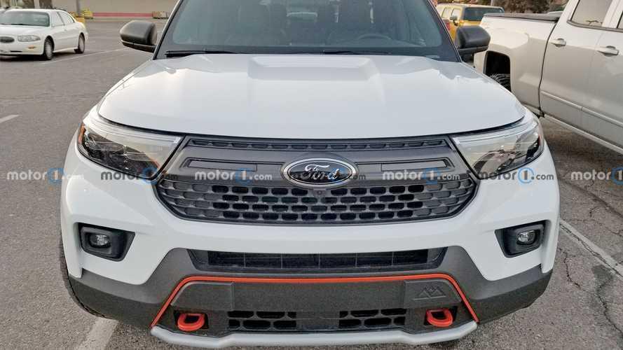 Ford Explorer Timberline Spy Shots