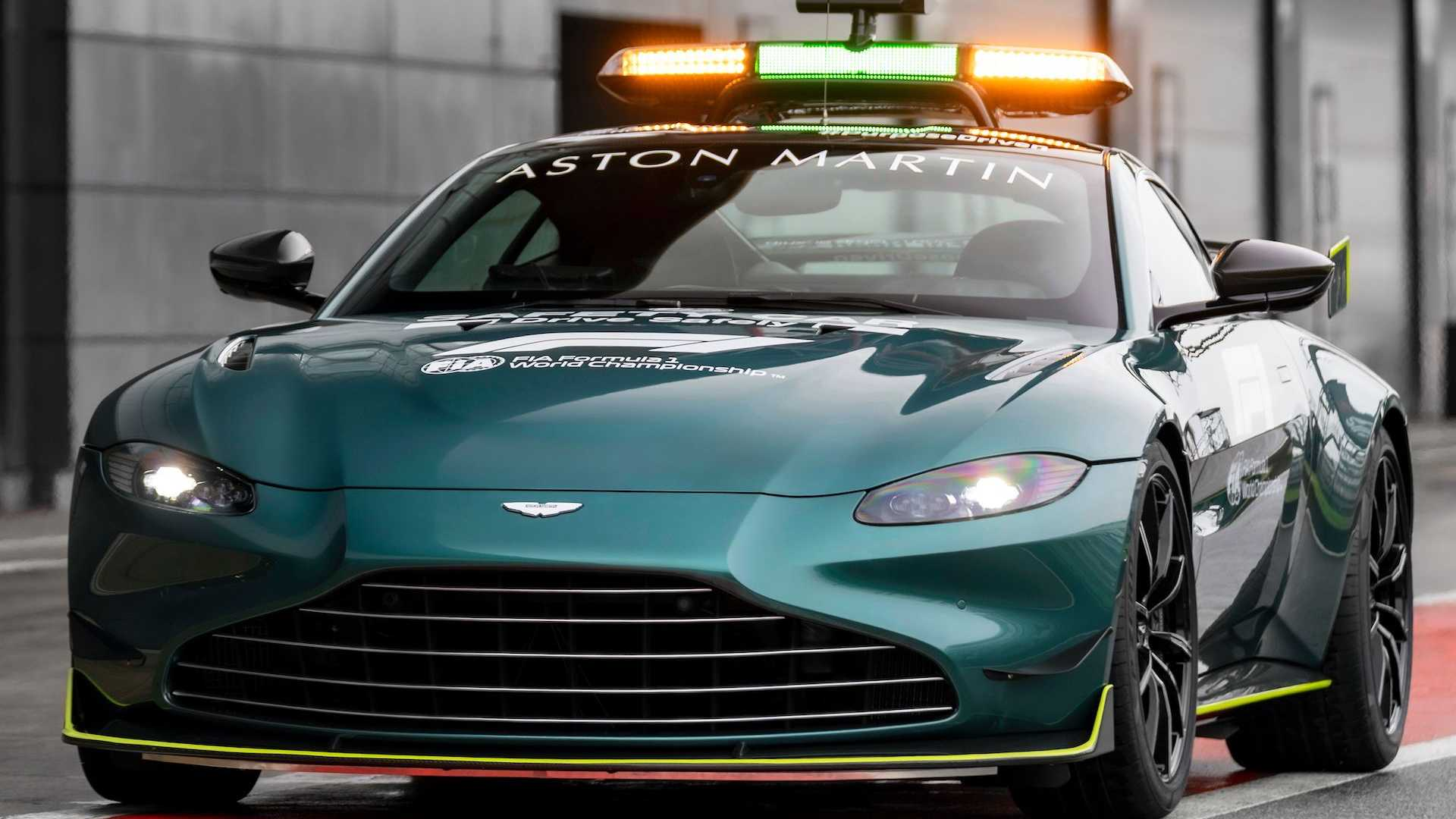 Aston Martin Shows Off Official F1 Safety Medical Cars For 2021 Season