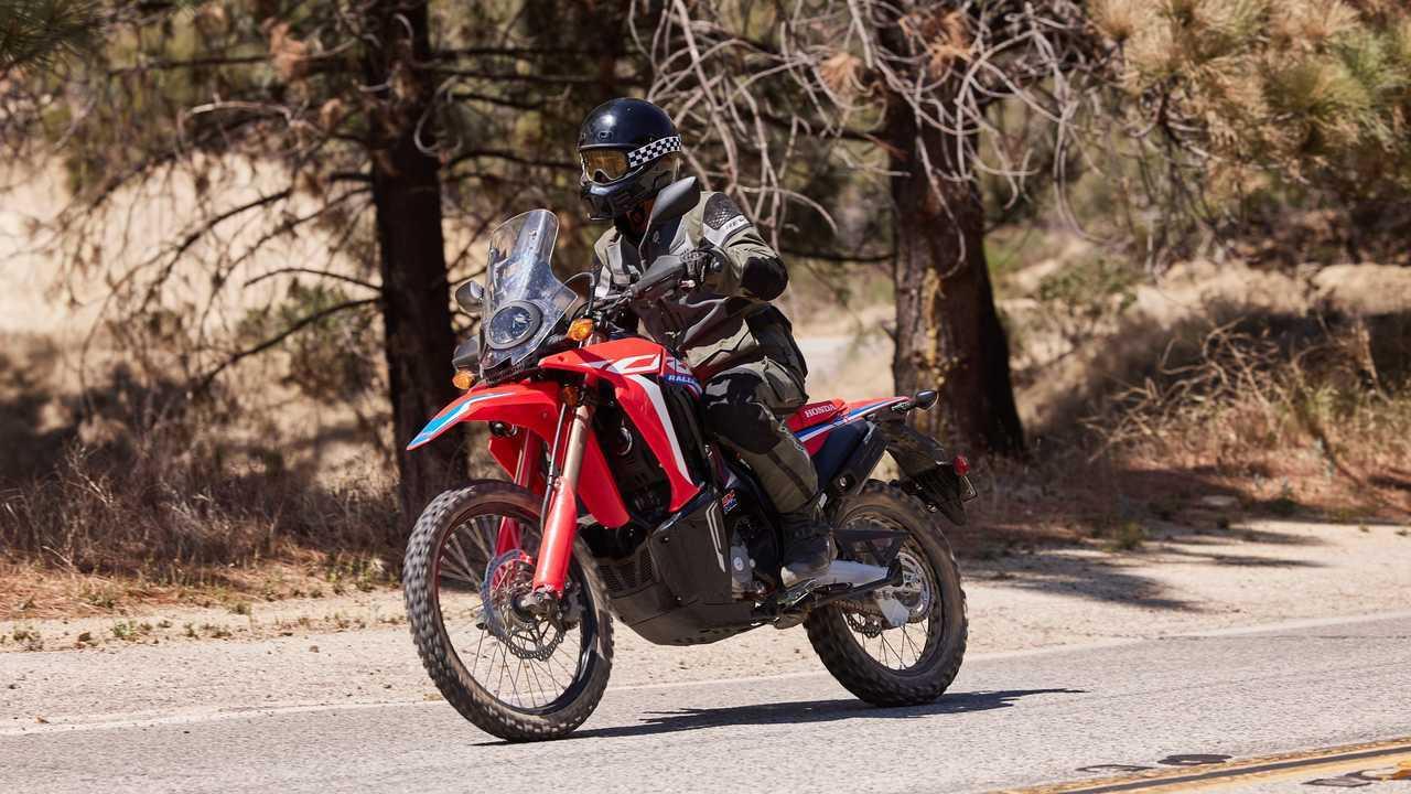 2021 Honda CRF300L Rally - Ergos