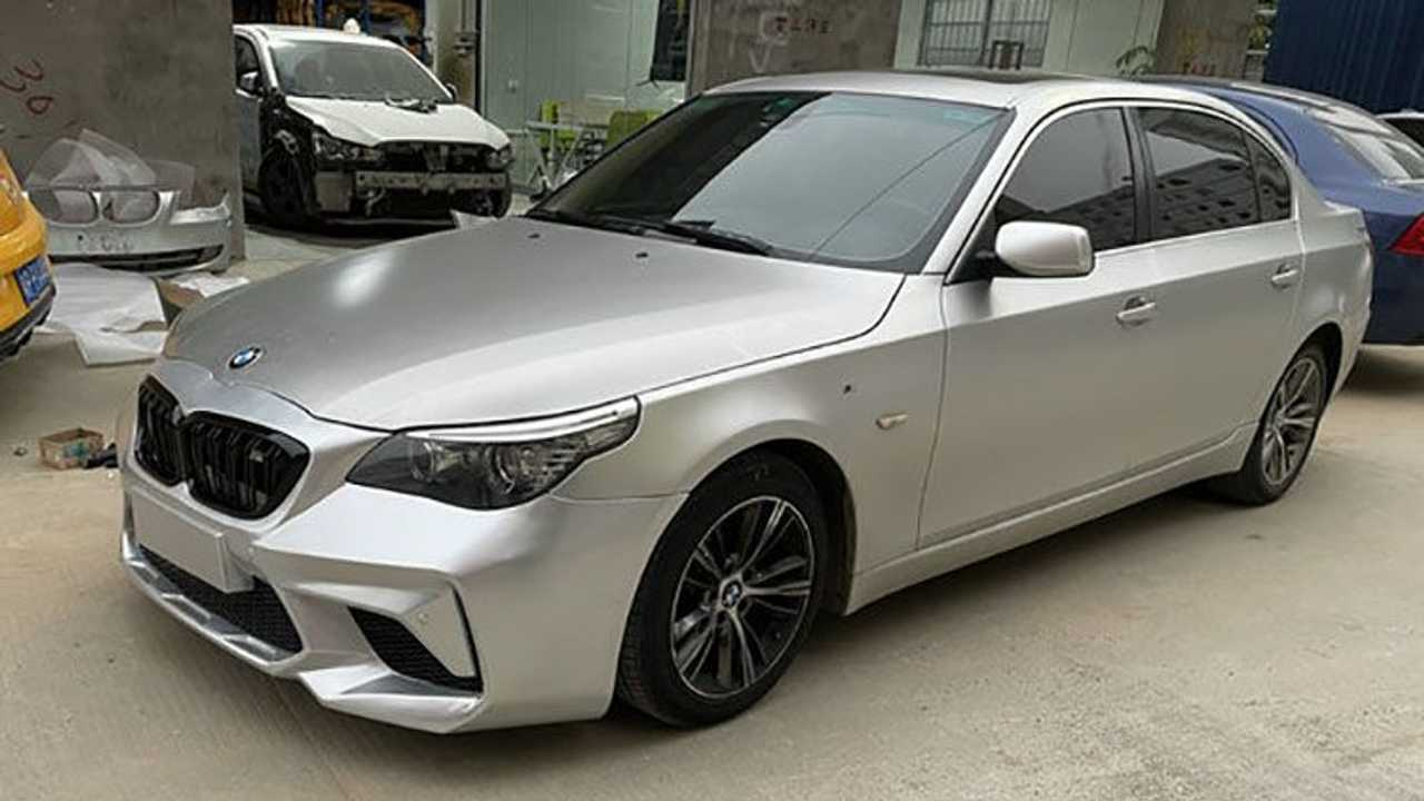 BMW E60 5 Serisi Ön