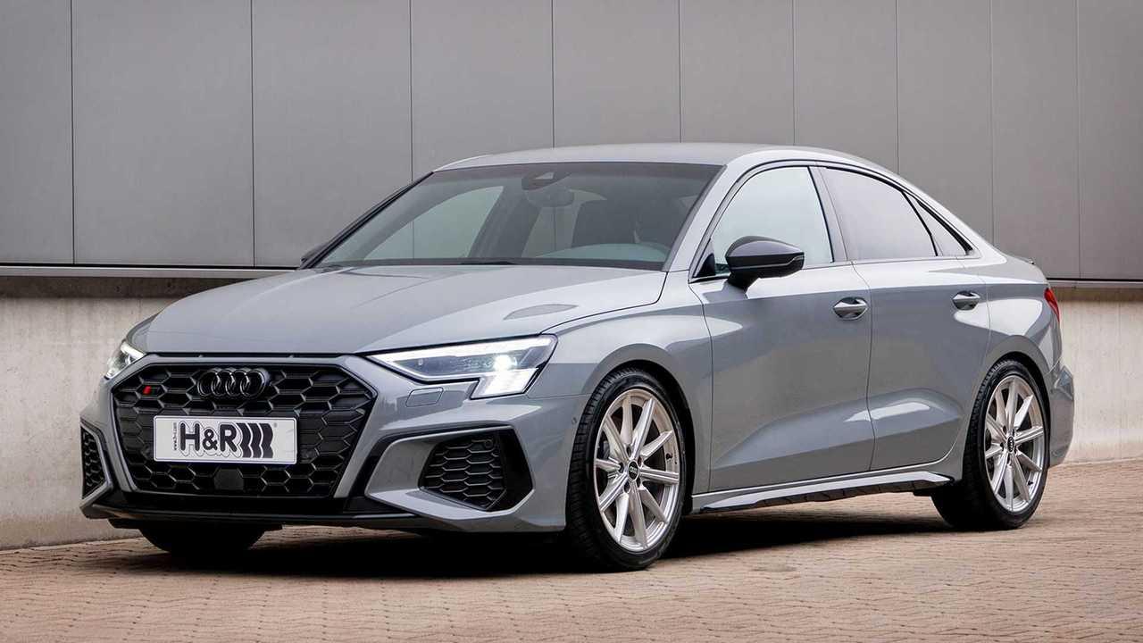 H&R spendiert dem Audi S3 Sportfedern