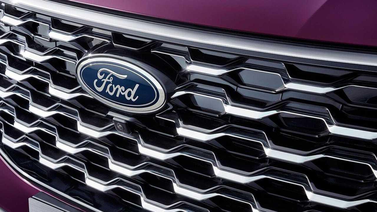 Ford Equator Blue Oval Badge