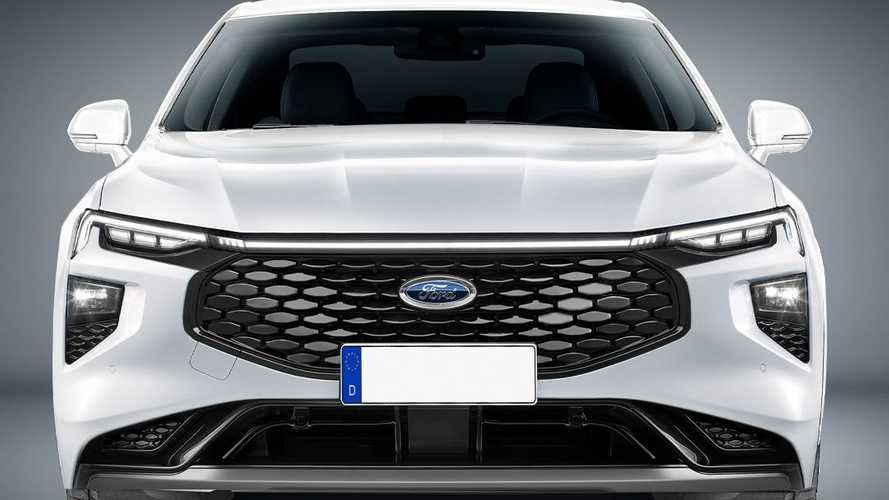 Ford Mondeo halefi render