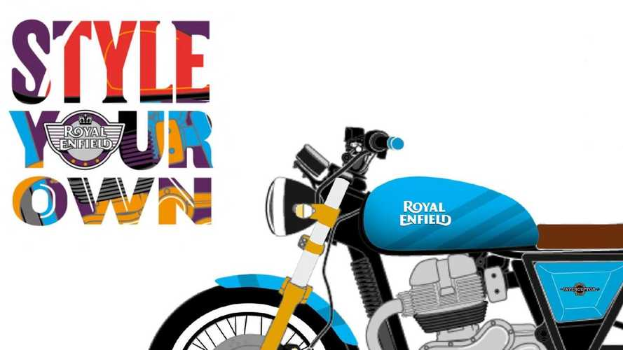 Royal Enfield Announces 'Style Your Own' Design Contest Winners