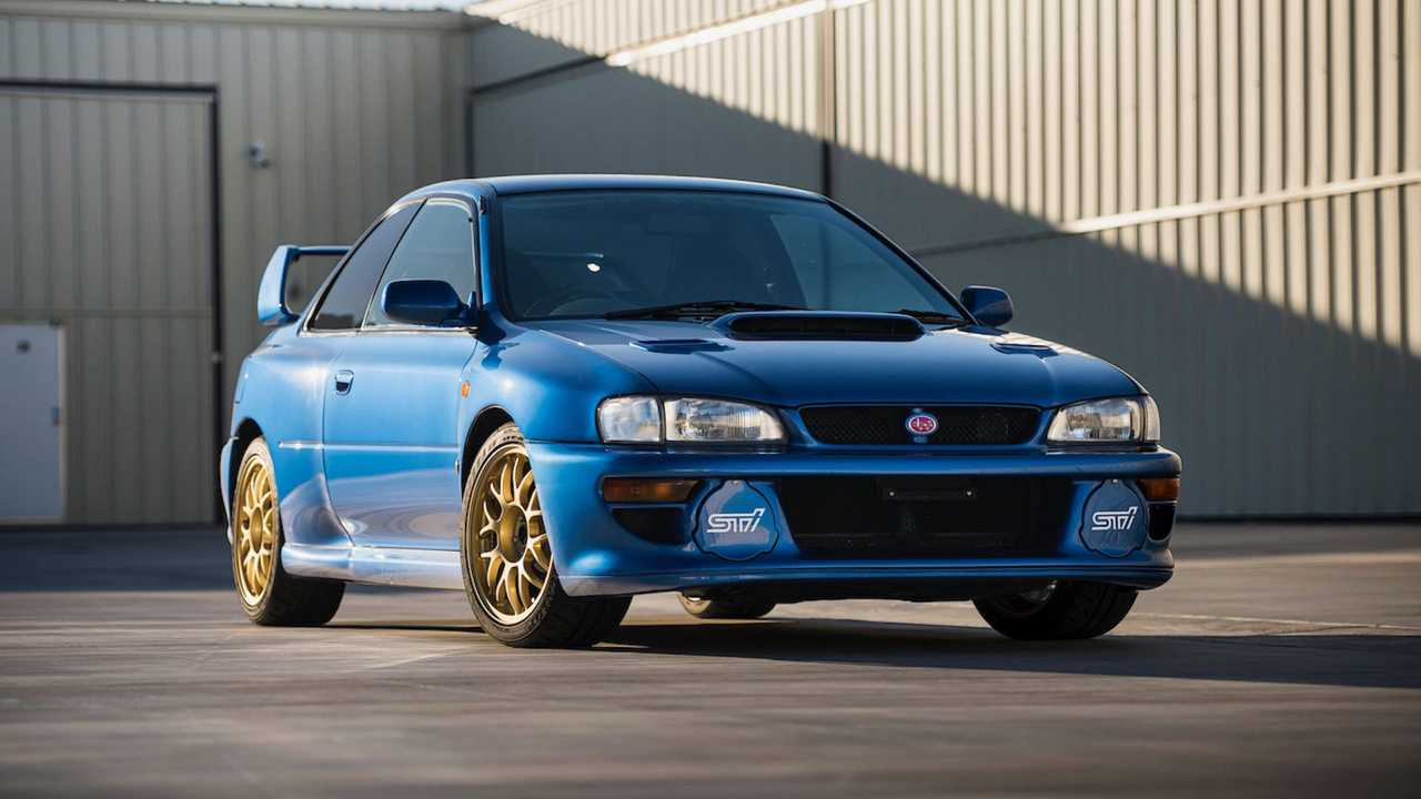 1998 Subaru Impreza 22B STi Sold For $312,555