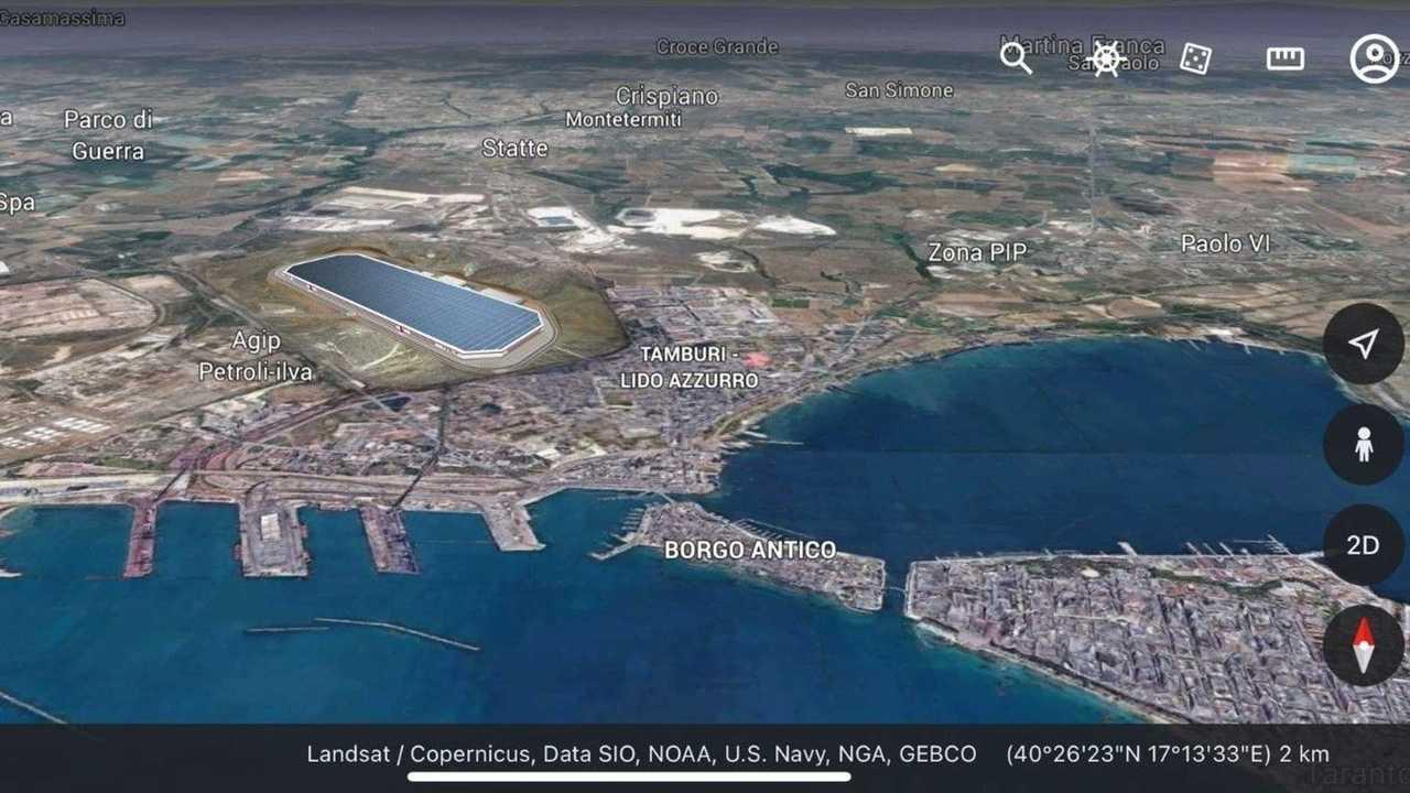La proposta della Tesla Gigafactory a Taranto