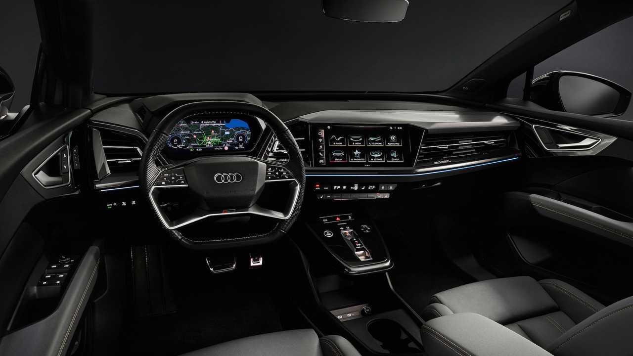 Audi zeigt Bilder vom Interieur des Q4 e-tron