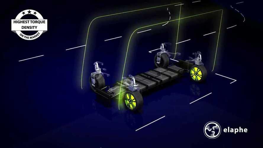 Radnabenmotoren von Elaphe treiben Aptera und Lordstown an