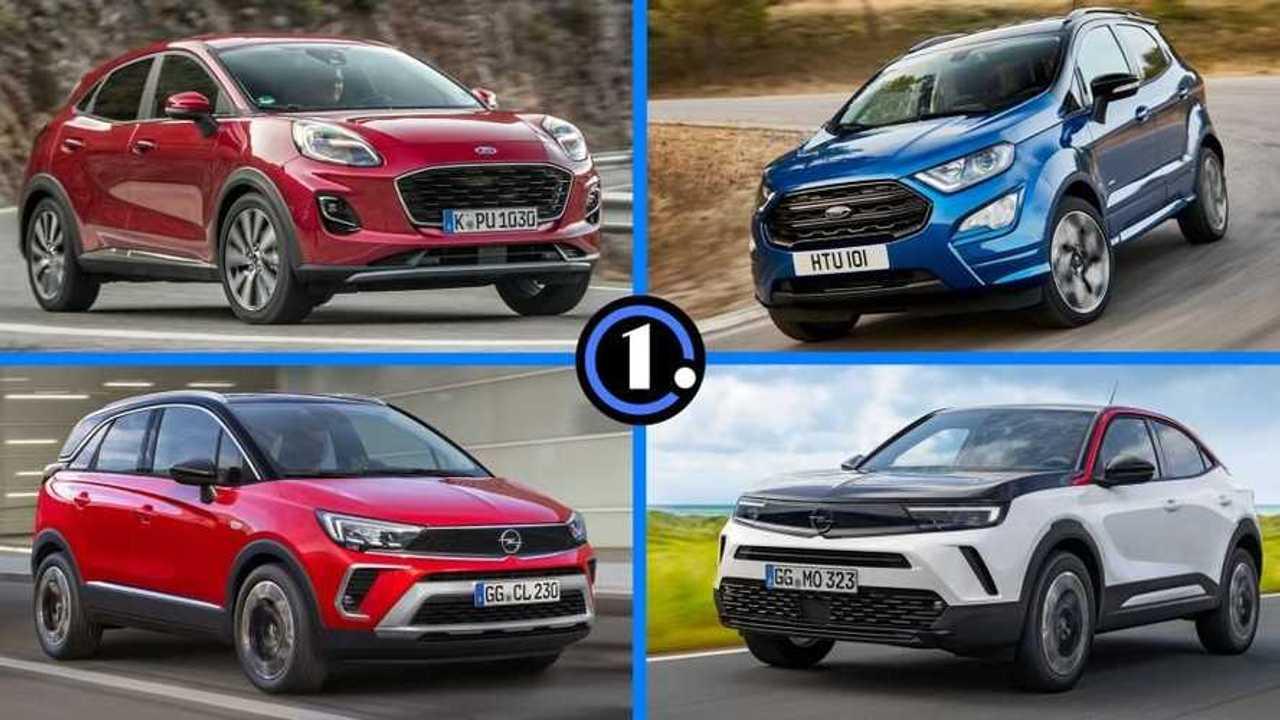 5 marcas con dos SUV urbanos cada una