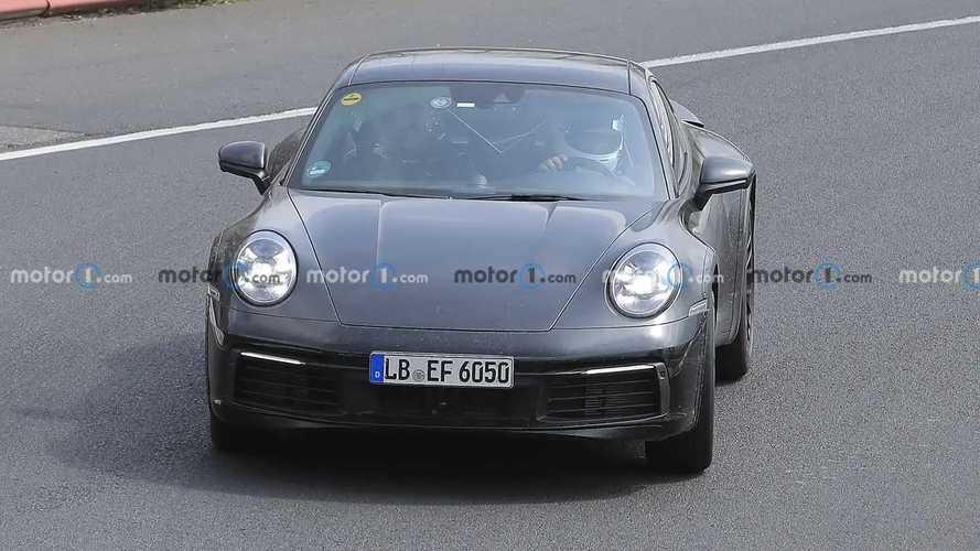 Porsche 911 Safari Spy Photos