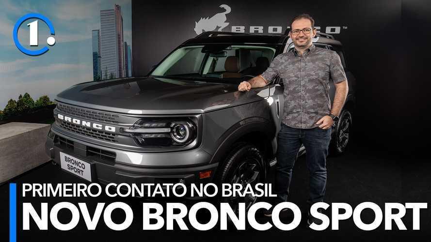 Primeiro contato: Ford Bronco Sport Wildtrak impressiona ao vivo