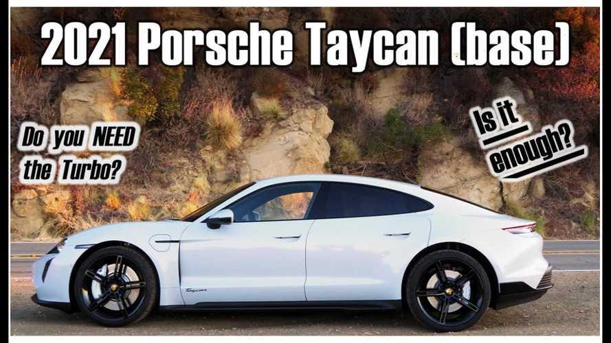 Matt Farah Says Base Porsche Taycan RWD Is The Best Taycan