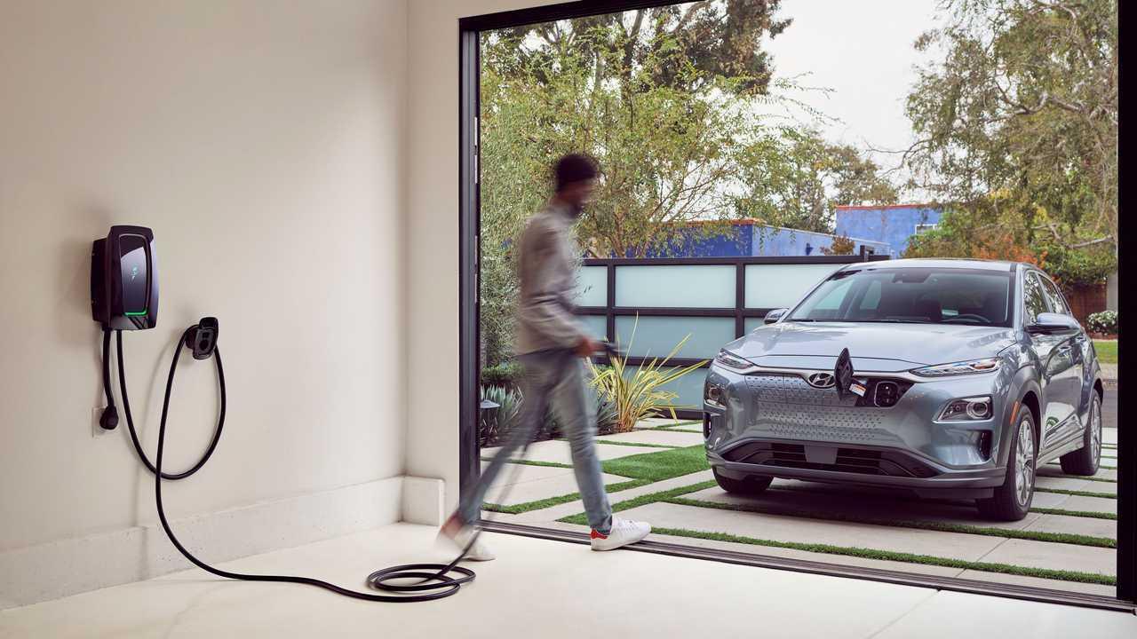 Electrify America's HomeStation EV charger