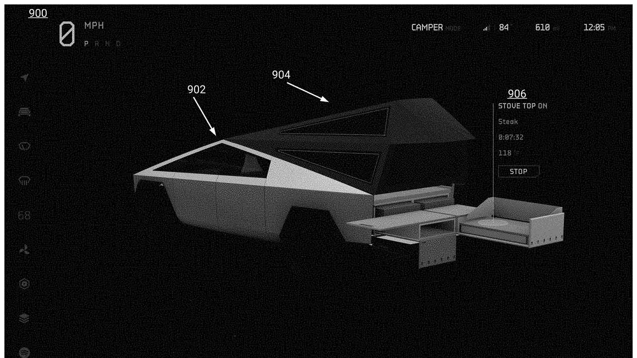 Tesla Cybertruck Secrets Exposed In Patent Application