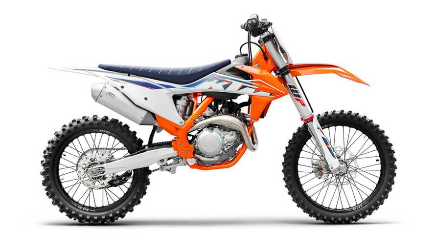 KTM Adds Minor Upgrades To SX Motocross Line For 2022