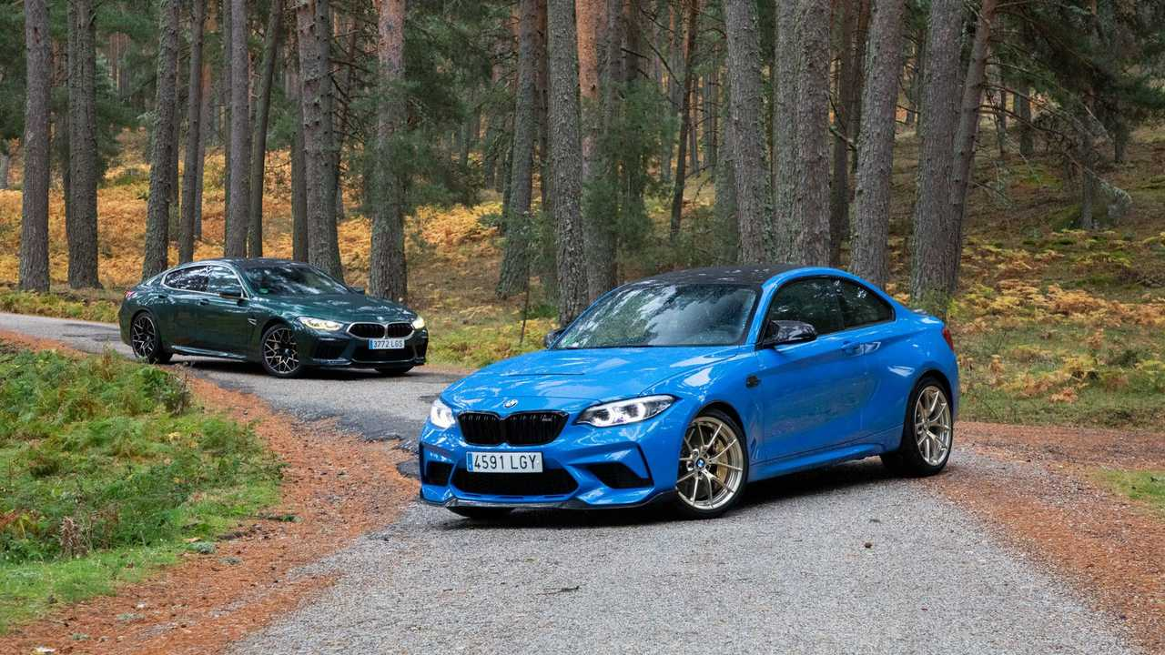 Prueba BMW M2 CS y M8 Gran Coupé First Edition 2021
