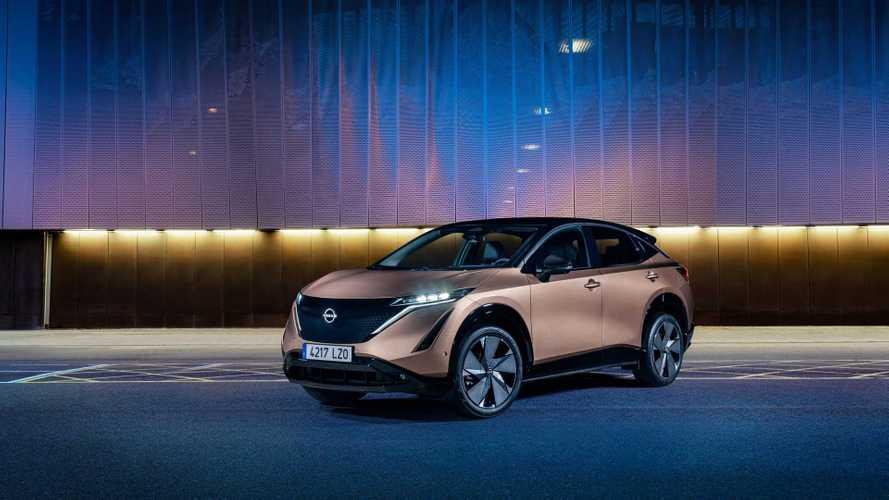 Nissan Unveils Ariya's Paint Palette