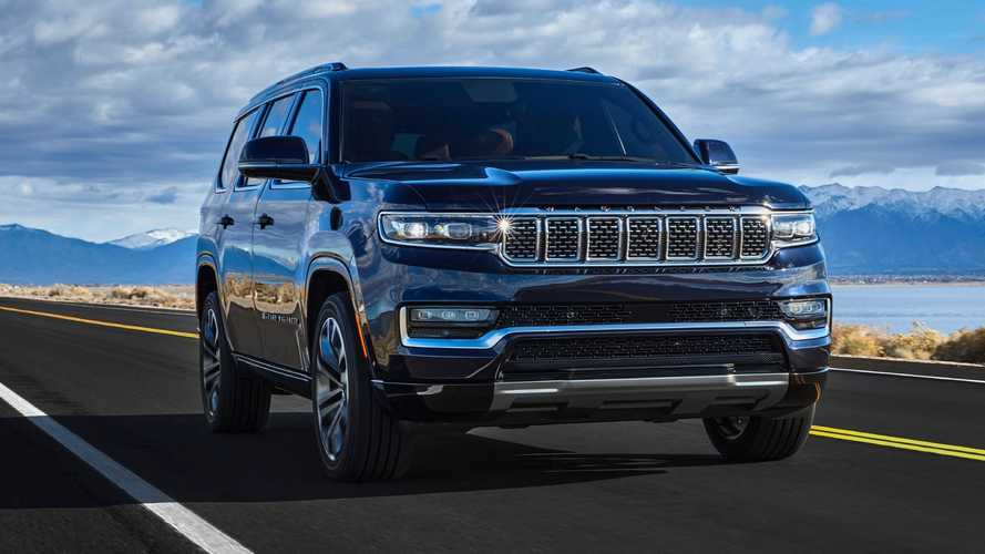 2022 Jeep Wagoneer And Grand Wagoneer Debut With Space And Style