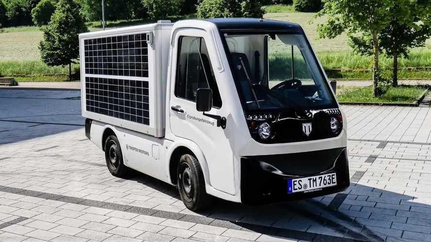 Tropos Able:Kleiner Elektro-Transporter mit Photovoltaik